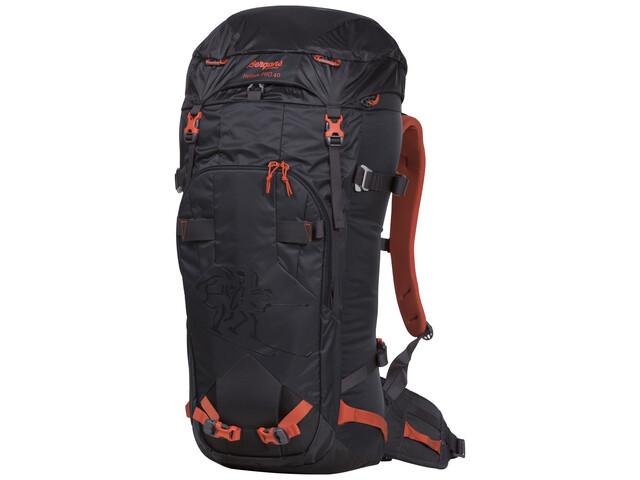 Bergans Helium Pro 40 Backpack Solid Charcoal/Koi Orange